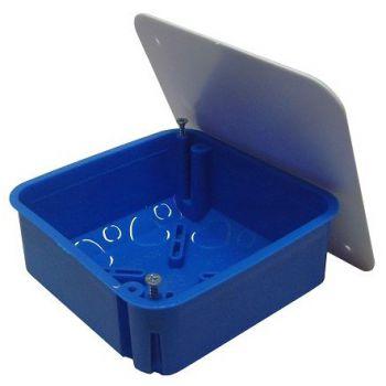 TYCO Коробка распределительная 100х100х45мм скрытая с крышкой