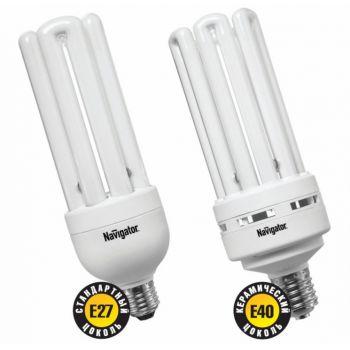 Лампа энергосберегающая 85 Вт NAVIGATOR NCL-6U-85-840-Е40