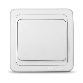 Выключатель 1-кл. СП Валери 10А IP20 бел. UNIVersal