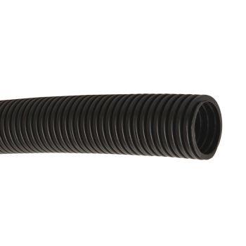Труба гибкая ПНД 32мм с протяжкой черная (25м)
