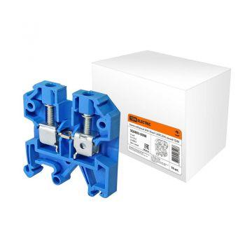Зажим наборный ЗНИ-35мм2 (JXB125А) синий TDM