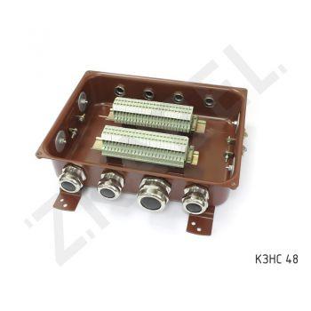 Коробка с зажимами наборными КЗНС-48 УХЛ 1,5 IP65