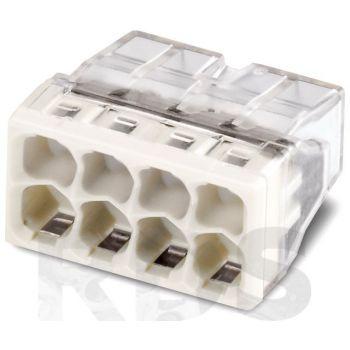 Клемма 8х(0.5-2.5мм) 8-х проводн. для распред. короб. (без п) WAGO