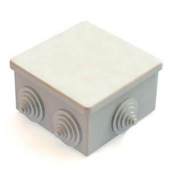 Коробка распр. откр.пр. IP44 (85х85х40) 6 вводов