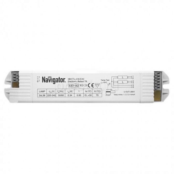 Дроссель электронный (ЭПРА) 94 428 NB-ETL-236-EA3 Navigator