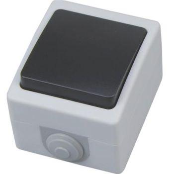 Выключатель 1-кл. о/п Атом HOROZ 10A 250v IP54