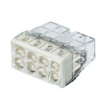 "Клемма 8х(0.5-2.5мм) 8-х проводн. для распред. короб. (с контактн. пастой ""Alu-Plus"") WAGO"