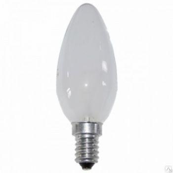 Лампа накаливания 60Вт свеча матовая