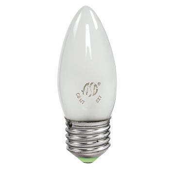 Лампа накаливания 40Вт свеча матовая  Favor