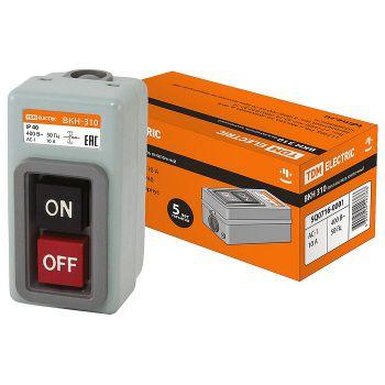 Выключатель кнопочный с блокировкой ВКН-310 3Р 10А
