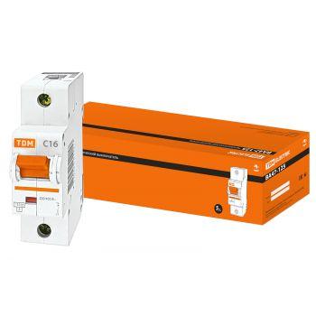 Автоматический выключатель ВА47-125 1Р 100А 15кА  х-ка С TDM